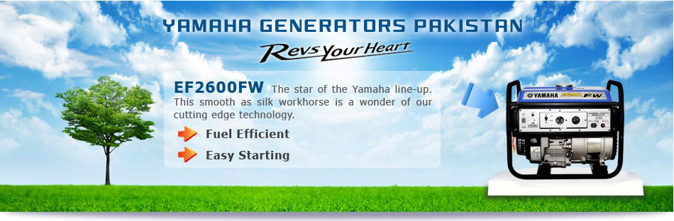 Yamaha Generators Think Tomorrow Bright