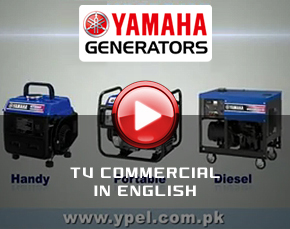 Yamaha Generators TV Commercial English